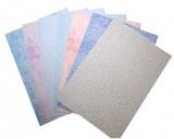 Grafický kartón s farebným motívom